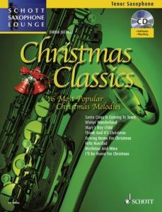 COMPILATION - CHRISTMAS CLASSICS FOR TENOR SAXOPHONE (SIB) +CD