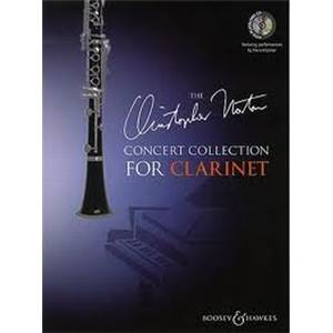 NORTON CHRISTOPHER - CONCERT COLLECTION CLARINETTE/PIANO + CD