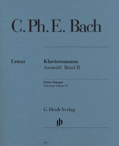 BACH CARL PHILIPP EMANUEL - SONATES CHOISIES VOLUME 2 - PIANO