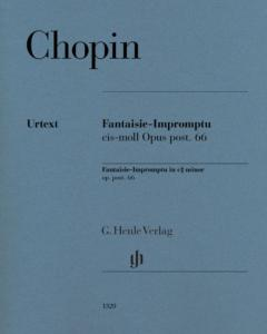 CHOPIN FREDERIC - FANTAISIE-IMPROMPTU OP.POST.66 EN DO# MINEUR - PIANO