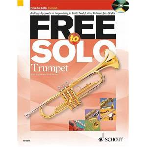 HUGUES / HARVEY - FREE TO SOLO TROMPETTE + CD