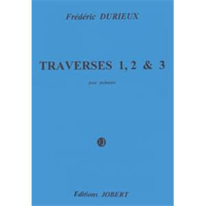 DURIEUX FREDERIC - TRAVERSES 1 2 ET 3 - GRAND ORCHESTRE (CONDUCTEUR)