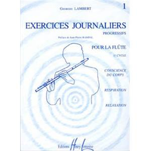 LAMBERT GEORGES - EXERCICES JOURNALIERS VOL.1