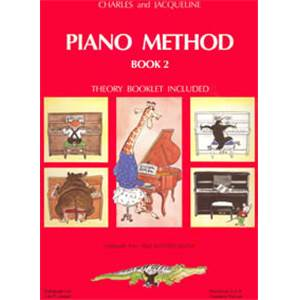 HERVE/POUILLARD - PIANO METHOD BOOK 2 - PIANO