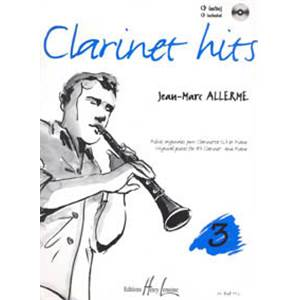 ALLERME JEAN-MARC - CLARINET HITS VOL.3 + CD - CLARINETTE ET PIANO