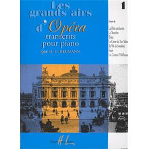 HEUMANN HANS GUNTER - GRANDS AIRS D'OPERA VOL.1 - PIANO