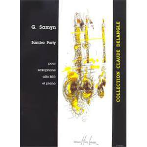 SAMYN GINO - SAMBA PARTY - SAXOPHONE MIB ET PIANO