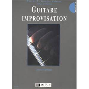 MARTINEZ LOUIS - GUITARE IMPROVISATION VOL.2 METHODE + CD   DESTOCKAGE