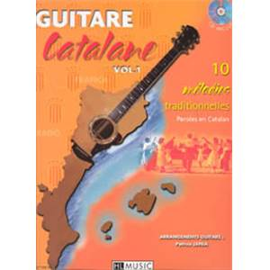 JANIA PATRICE - GUITARE CATALANE + CD