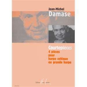 DAMASE JEAN-MICHEL - COURTEPIECES - HARPE