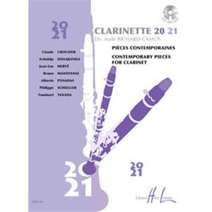 RICHARD-CAMUS AUDE - CLARINETTE 20-21 + CD - CLARINETTE