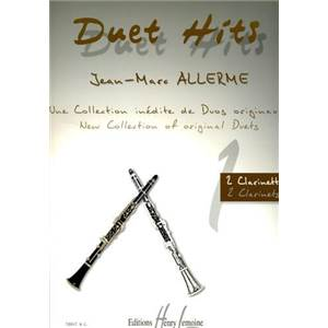 ALLERME JEAN MARC - DUET HITS VOL.1 CLARINETTE