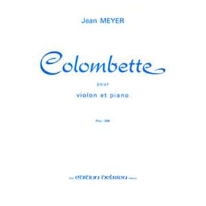 MEYER JEAN - COLOMBETTE - VIOLON