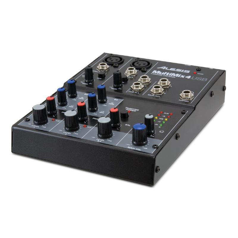 table de mixage studio alesis multimix mm4 usb. Black Bedroom Furniture Sets. Home Design Ideas