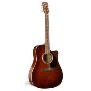 GUITARE FOLK ELECTRO-ACOUSTIQUE ART & LUTHERIE CEDAR CUTAWAY Q1 ANTIQUE BURST 23677