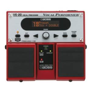MULTI-EFETS GUITARE BOSS VE 20 VOCAL PROCESSOR