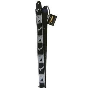 COURROIE GUITARE FENDER MONO STRAP BLACK GREY 0990681543