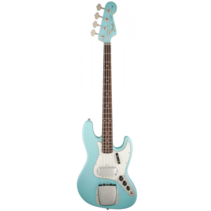 BASSE FENDER 64 DAPHNE BLUE JAZZ BASS 0191020804