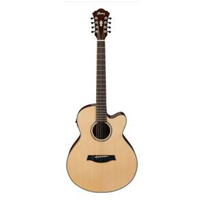 GUITARE FOLK ELECTRO-ACOUSTIQUE IBANEZ AEL108 MD NT