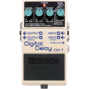 PEDALE EFFETS DIGITAL DELAY BOSS DD 7