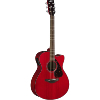 GUITARE FOLK ACOUSTIQUE YAMAHA FSX 800 C RUBY RED