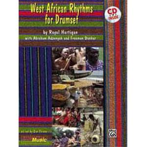 HARTIGAN ROYAL - WEST AFRICAN RHYTHMS FOR DRUMSET + CD