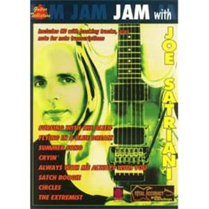 SATRIANI JOE - JAM WITH GUITAR TAB. + CD