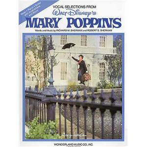DISNEY - MARY POPPINS VOCAL SELECTION P/V/G