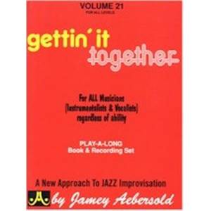 AEBERSOLD JAMEY - VOL. 021 GETTING TOGETHER + 2CD