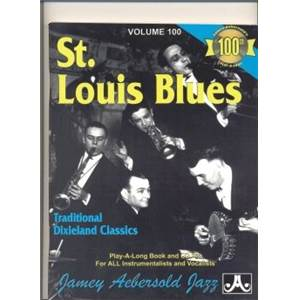 COMPILATION - AEBERSOLD 100 ST. LOUIS BLUES + CD