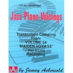 AEBERSOLD JAMEY - VOL. 054 JAZZ PIANO VOICINGS