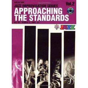 HILL JR WILLIE - APPROACHING THE STANDARDS VOL.2 IN BASS CLEF + CD