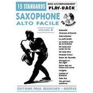 COMPILATION - SAXOPHONE FACILE VOL.4 + CD