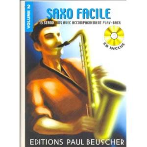 COMPILATION - SAXOPHONE FACILE VOL.2 + CD