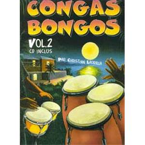 CHRISTIAN LAURELLA - CONGAS BONGOS VOL.2 + CD