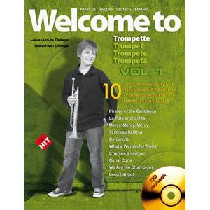 COMPILATION - WELCOME TO TROMPETTE VOL.1 + CD