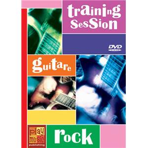 FREDD J. / SAUVIAT E. - DVD TRAINING SESSION GUITAR ROCK