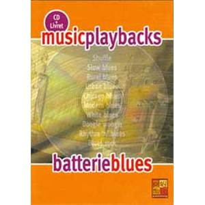 FDBAND - MUSIC PLAYBACKS BATTERIE BLUES + CD