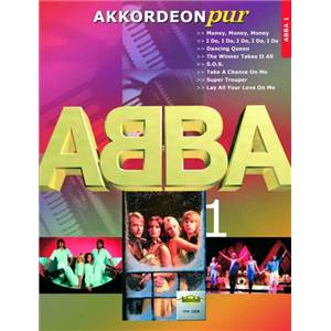 ABBA - AKKORDEON PUR PARTITIONS POUR ACCORDEON AVEC PAROLES
