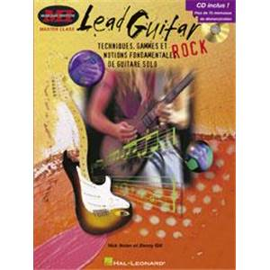NOLAN NICK - LEAD GUITAR TECHNIQUES GAMMES ET NOTIONS FONDAMENTALES + CD