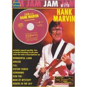 MARVIN HANK - JAM WITH GUITAR TAB. + CD