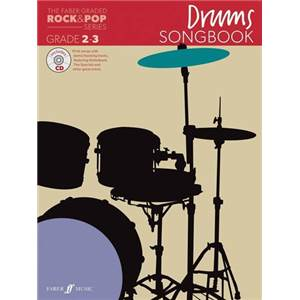 COMPILATION - ROCK & POP GRADED SONGBOOK DRUMS GRADE 2 3 + CD