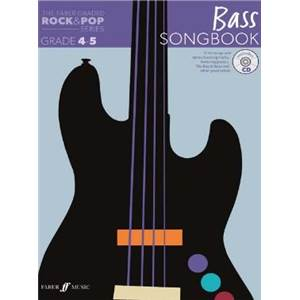 COMPILATION - ROCK & POP GRADED SONGBOOK BASS GRADE 4 5 + CD