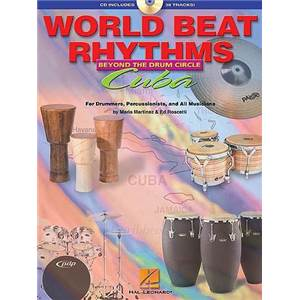 MARTINEZ / ROSCETTI - WORLD BEAT RHYTHMS DRUMS CUBA + CD