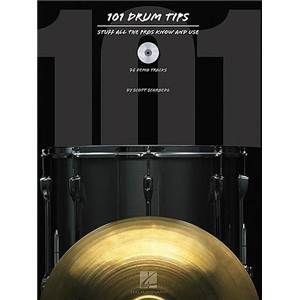 SCHROEDL SCOTT - 101 DRUM TIPS STUFF ALL PROS KNOW AND USE + CD