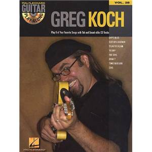 KOCH GREG - GUITAR PLAY ALONG VOL.028 + CD