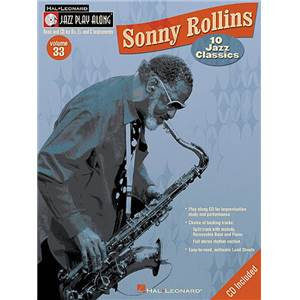 ROLLINS SONNY - JAZZ PLAY ALONG VOL.033 + CD