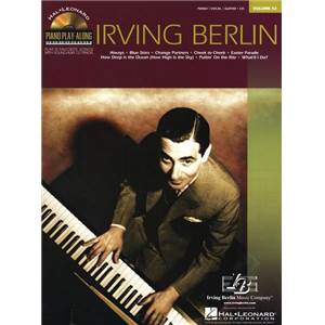 BERLIN IRVING - PIANO PLAY ALONG VOL.042 + CD