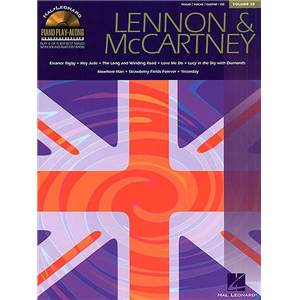 LENNON / MCCARTNEY - PIANO PLAY ALONG VOL.028 + CD