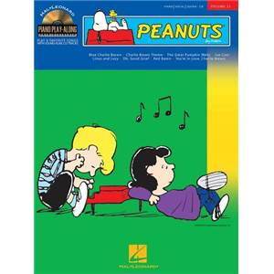 COMPILATION - PIANO PLAY ALONG VOL.033 PEANUTS + CD